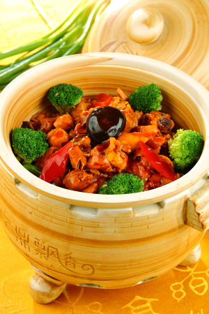 chinese cuisine: Fresh nutrition delicious Chinese food