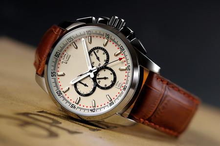 A piece of high-grade men's Watch Stock Photo