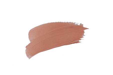 A box of Makeup Foundation Stock Photo