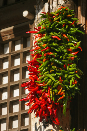 windows and doors: Drying in the doors and windows of pepper