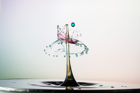 collision: water drop collision