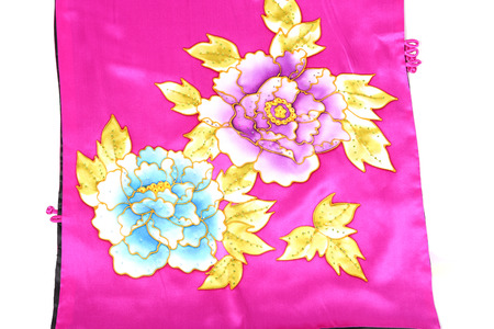 shawl: Traditional ornamental flora, can use this pattern in the design of carpet, shawl, pillow, cushion. Stock Photo