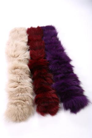craftsperson: scarf fur