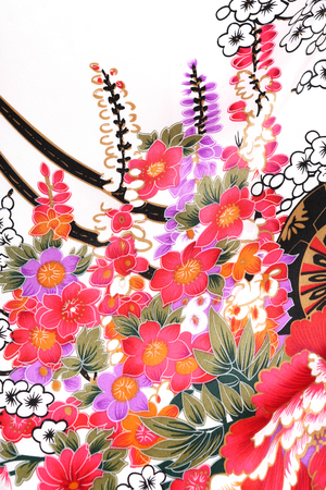flores chinas: Traditional ornamental floral , use this pattern in the design of carpet, shawl, pillow, cushion.