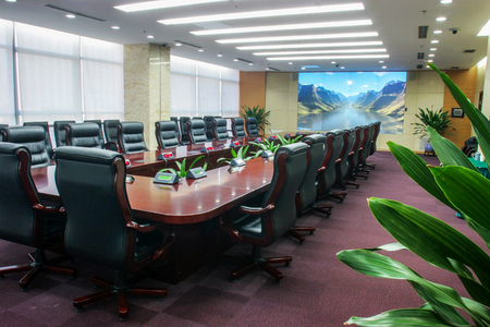 chairman: Modern multimedia conference room