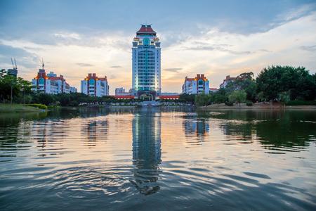 campus of xiamen university in China
