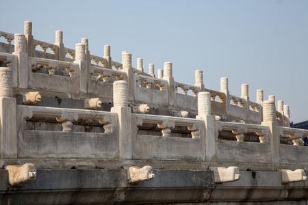 temple of heaven: Temple of Heaven in Beijing - China ( Tiantan temple )Qiniandian