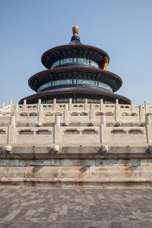 Temple of Heaven in Beijing - China ( Tiantan temple )Qiniandian