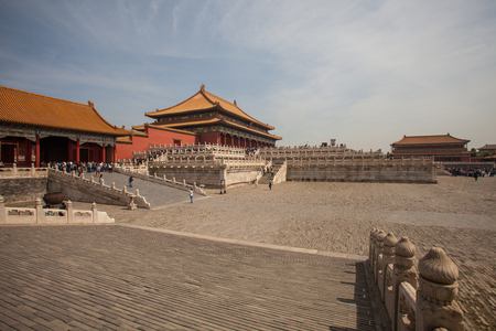 Forbidden City: Chinese ancient royal architecture, Beijings Forbidden City Editorial