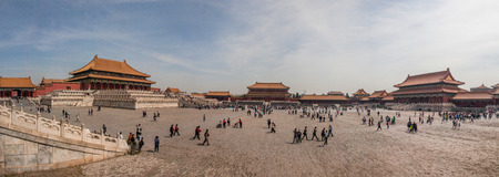 Chinese ancient royal architecture, the Forbidden City