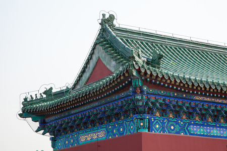 mythical: Mythical beast of ancient China Building Decoration