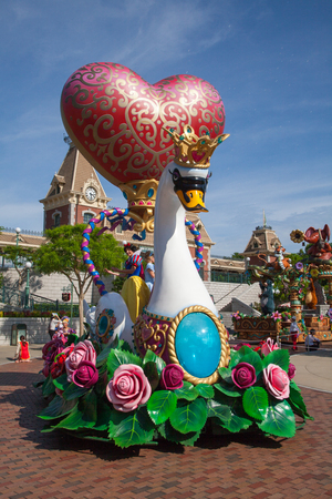 Hong Kong Disneyland, the daily fantasy flights