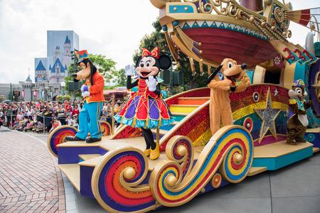 Hong Kong Disneyland Editorial