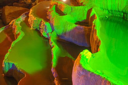 Stalactites and stalagmites in  Stalactites Cave