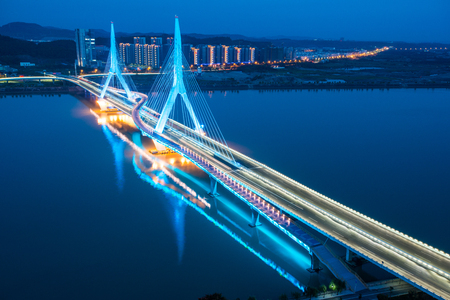 Bridge over Yangtze River, China