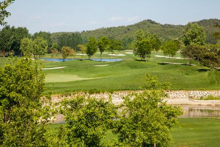 ploy: golf course