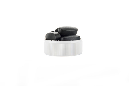Health care products in the white background 版權商用圖片