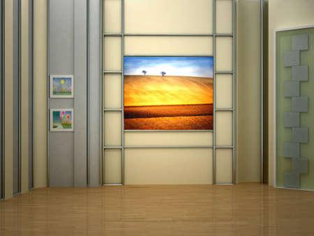 background studio for tv chroma photo
