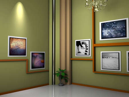 studio tv background chroma photo