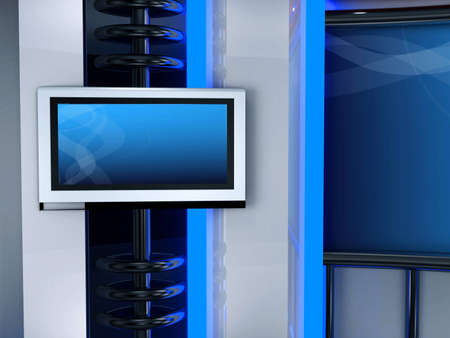 studio tv background chroma Stock Photo - 11406103