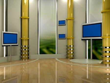 studio tv background chroma