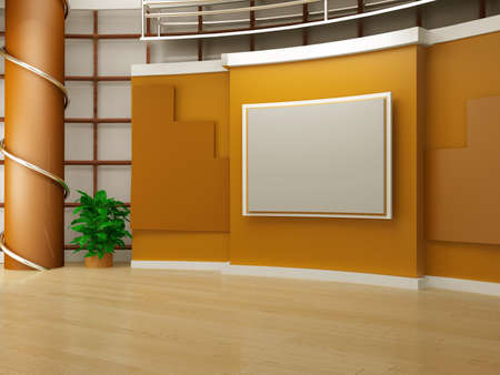 studio tv background chroma photo