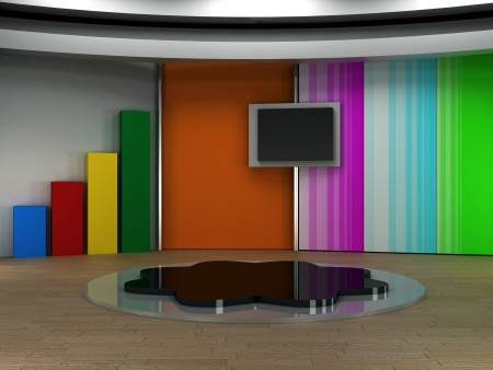 Tv 3d studio virtuel jeu