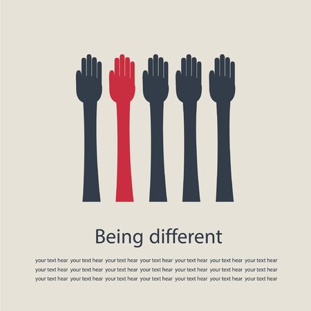 reckless: Being different. Illustration