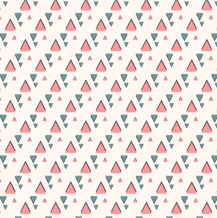 Pattern With Triangle Illustration