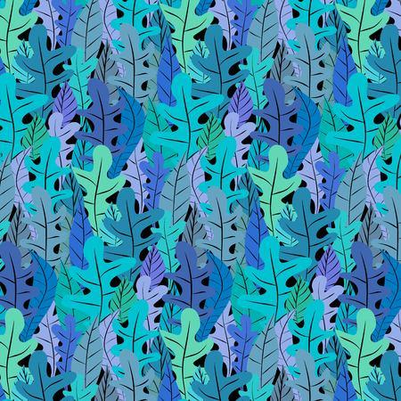 Hand Drawn Floral Pattern Background. Vector Illustration. 일러스트