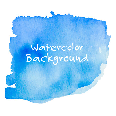 Abstract Watercolor Background. Hand Painted Vector Illustration.
