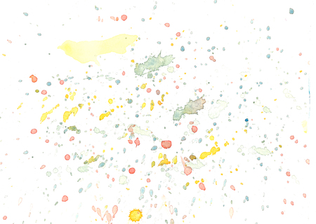 Hand painted abstract watercolor background illustration.