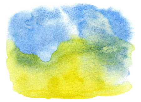 Abstract Watercolor Background. Hand Painted Illustration.