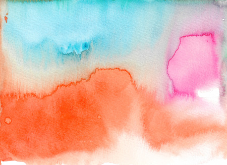 Abstract watercolor texture background. Hand painted illustration. Standard-Bild - 115049344