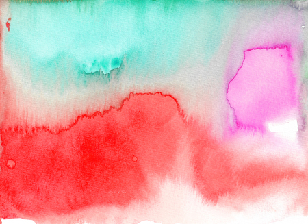 Abstract watercolor texture background. Hand painted illustration. Reklamní fotografie
