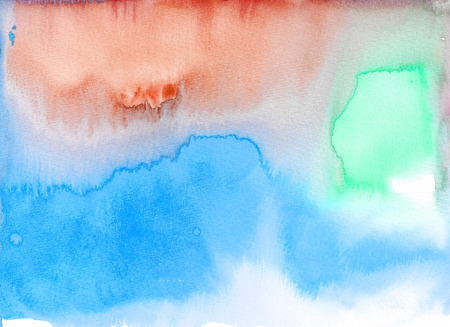 Abstract watercolor texture background. Hand painted illustration. Stock Photo