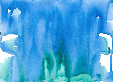 Abstract watercolor texture background. Hand painted illustration. Imagens