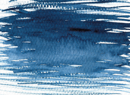 Abstract watercolor texture background. Hand painted illustration. Standard-Bild - 115049450