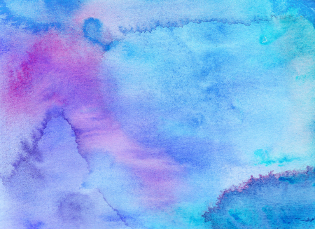 Abstract watercolor background. Hand painted illustration Reklamní fotografie