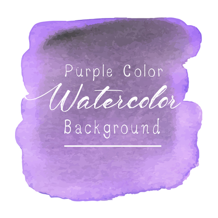 Purple abstract watercolor background. Vector illustration. Ilustrace