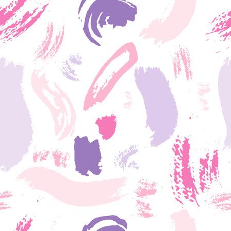 Abstract pattern brush stroke background. Vector illustration.