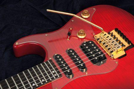 Solid old rock guitar.