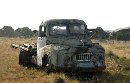 Abandoned farm truck.