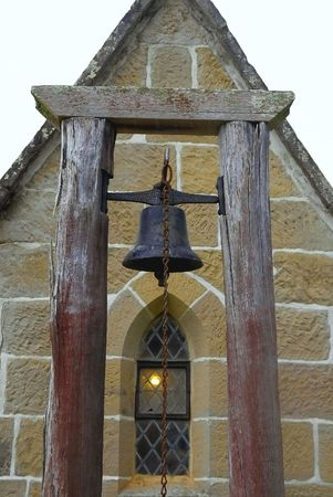 Rusty Old Church Bell photo