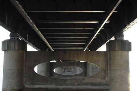 Underside of River Bridge