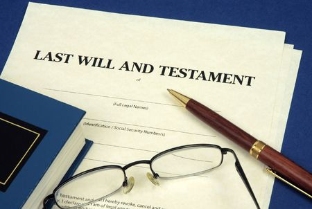 the inheritance: Last Will and Testament
