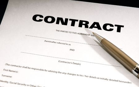 signed: Contract Document