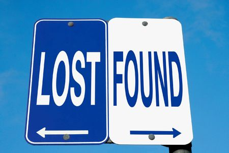 found: Road Sign - Lost or Found