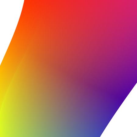 Creative square colorful vector gradient prism image.