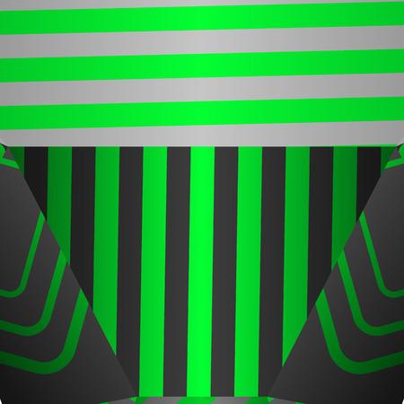 Creative colorful vector backdrop in modern pop art style. Ilustração